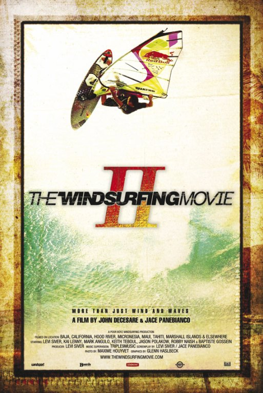 THE WINDSURFING MOVIE II DVD