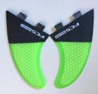FCS MR-TFX PC Carbon/Fluro Twin Fin Set