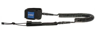 STX SUP Coiled Leash black